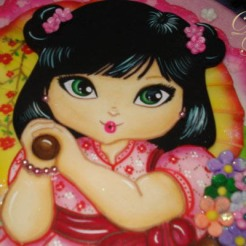 14. Chinita Close Up