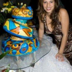 Torta de Gala de 5 pisos