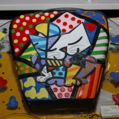 Close up Gato Britto