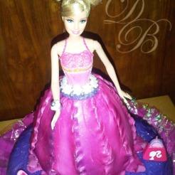 Traje Barbie